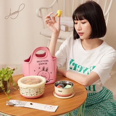 Hiromimi LINE FRIENDS 不鏽鋼保鮮碗6件組(三款可選) (9折)