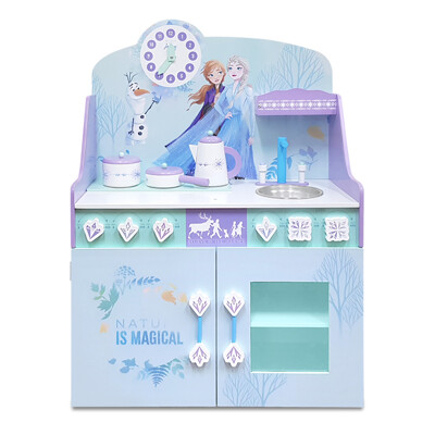 【kikimmy】迪士尼正版授權冰雪奇緣木製廚房玩具組(4件組) (6.8折)