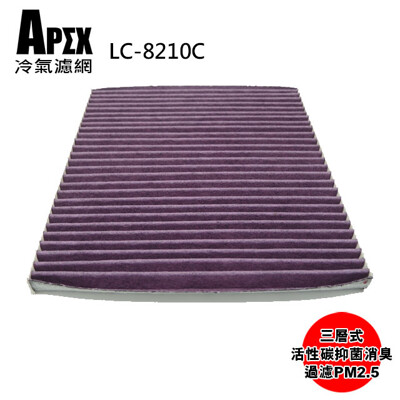 APEX 三層式多效車用冷氣濾網-KIA  Carens1.2.3代 _LC-8210C (6.7折)