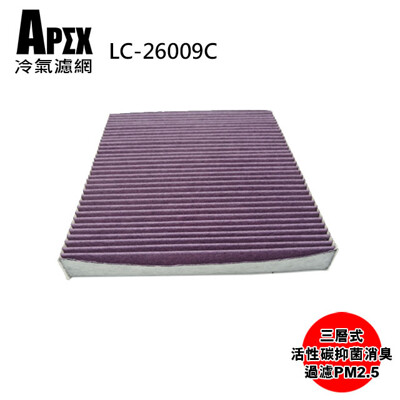 APEX 三層式多效車用冷氣濾網-VW(福斯)Golf VII/Tiguan II_LC-26009 (7.1折)