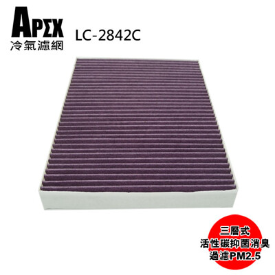 APEX 三層式多效車用冷氣濾網-PORSCHE Cayenne I_LC-2842C (7.8折)