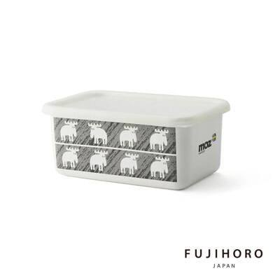 買一波▶MOZ麋鹿 保鮮琺瑯盒深型(M) 北歐風格 下午茶必備 野餐 療癒系餐具【Z210105】 (6折)