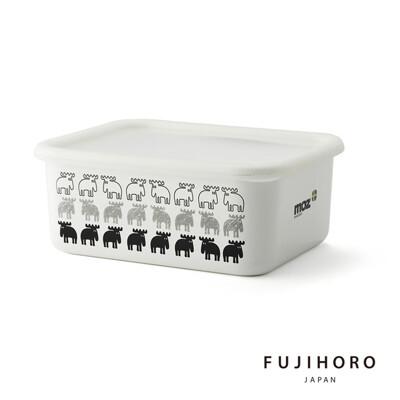 買一波▶MOZ麋鹿 保鮮琺瑯盒深型(L) 北歐風格 下午茶必備 野餐 療癒系餐具【Z210106】 (6.8折)