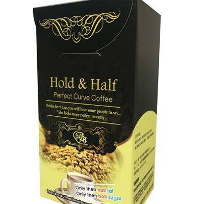 【Hold&Half】中化製藥集團研發卡布速纖白咖啡 12包/盒 (5.5折)