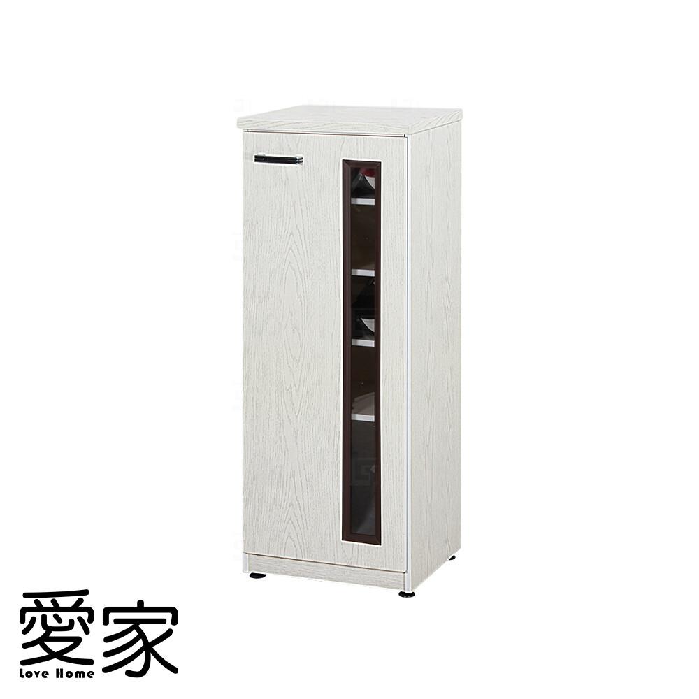 愛家防水塑鋼單門鞋櫃-寬42.5深37高112cm(12色可選)