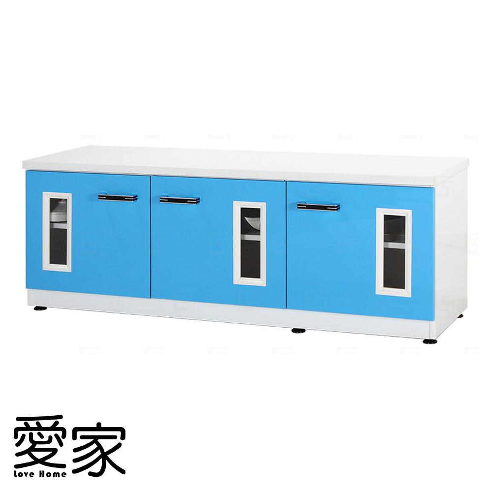 愛家防水塑鋼緩衝4尺座鞋櫃-寬122.5深37高45cm(12色可選)