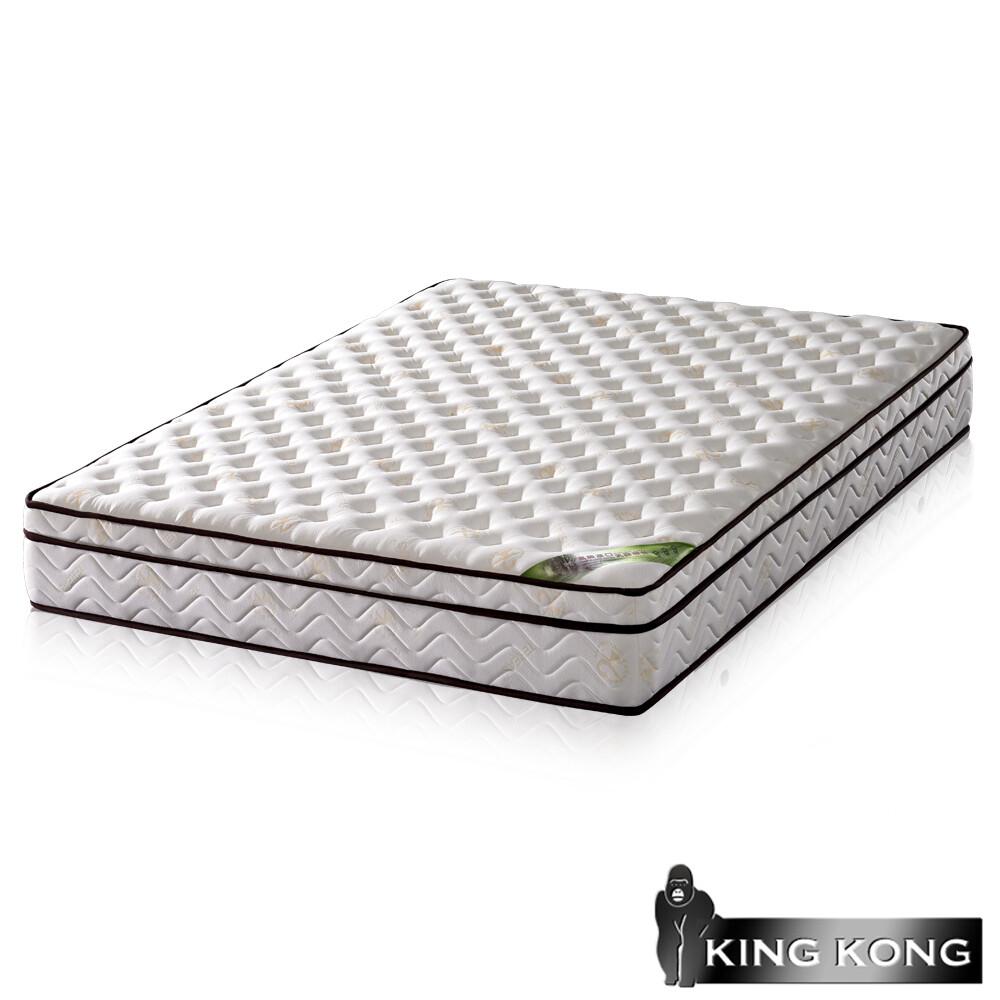 金鋼床墊三線20mm乳膠舒柔加強護背型3.0硬式彈簧床墊-單人3尺