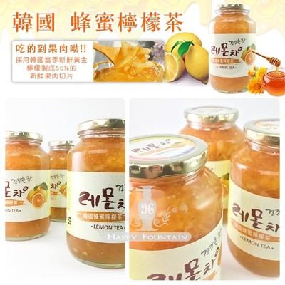 韓國 進口蜂蜜檸檬茶(果醬) 1KG(罐) (5.6折)
