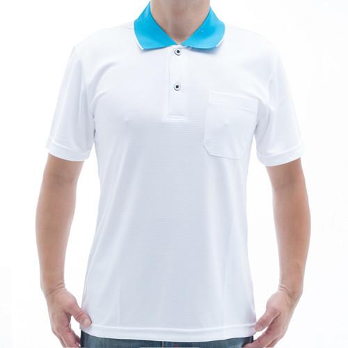 sain sou台灣製吸濕排汗速乾短袖polo衫t26536-14