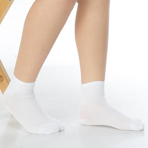 keroppa7~12歲學童專用毛巾底止滑短襪x3雙(男女適用)c93001