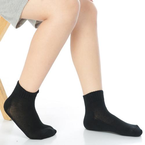 keroppa7~12歲學童專用毛巾底氣墊短襪x4雙c93003