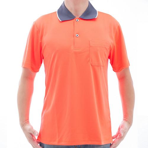 sain sou台灣製吸濕排汗速乾短袖polo衫t26536-09
