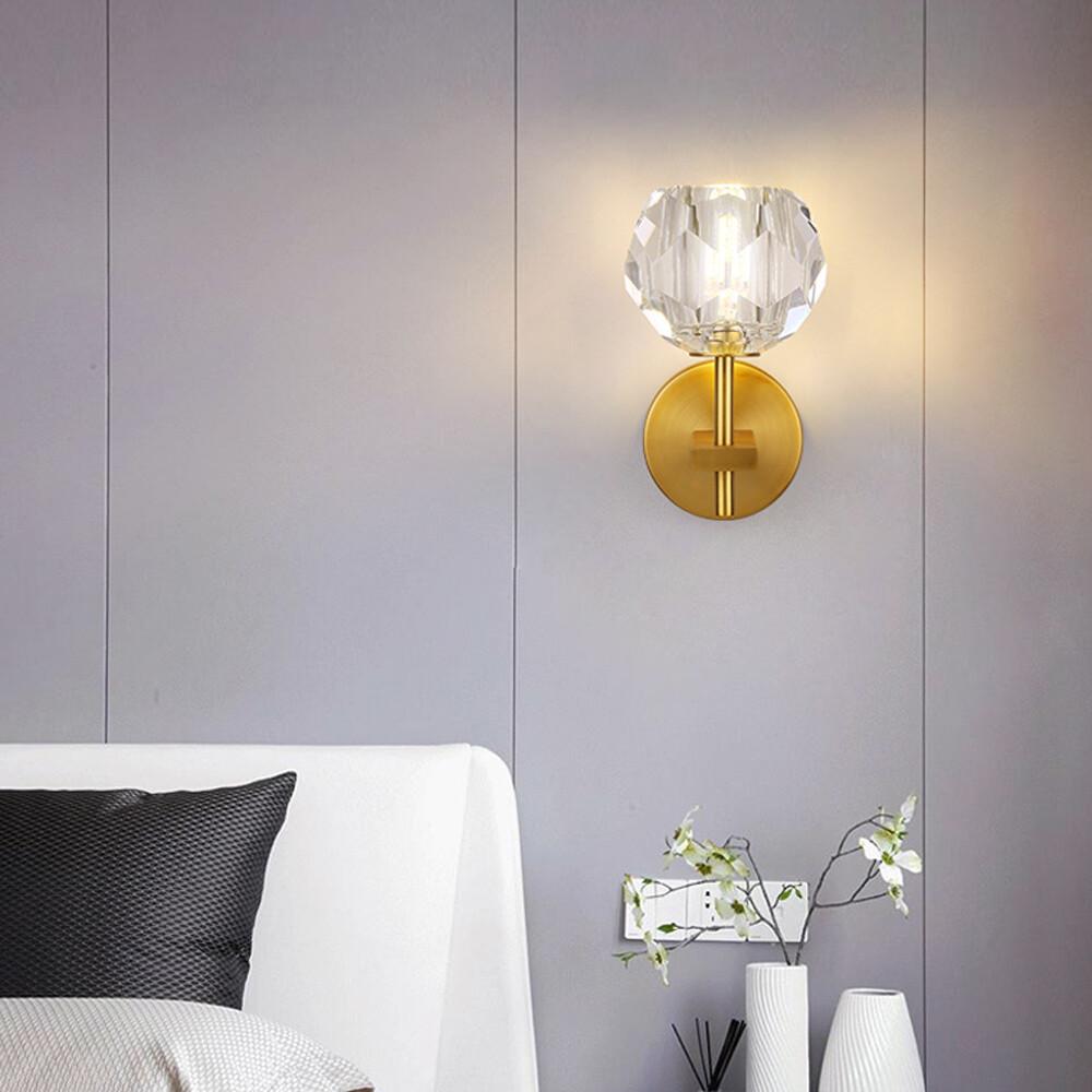 h&r安室家 蒲公英單水晶壁燈