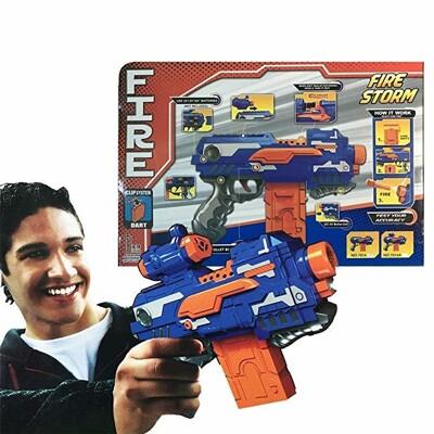電動軟彈槍(贈電池) 兒童射擊玩具槍 超酷NERF同款16枚 阻擊槍(附16個軟彈) 海綿子彈槍 (7.6折)