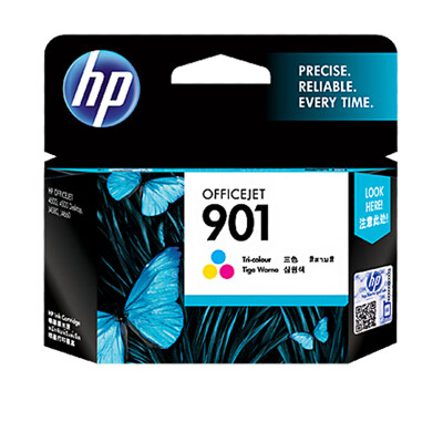 CC656AA HP 901 Officejet 彩色墨水匣 適用 HP OJ J4580 (9.6折)