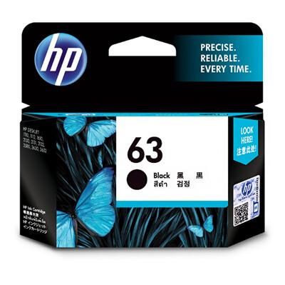 F6U62AA HP 63 黑色墨水匣 適用 DJ3630/2180/2130/1110/ENVY4 (9.6折)
