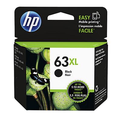 F6U64AA HP 63XL 大印量黑色墨水匣 適用 DJ3630/2180/2130/1110/ (9.6折)