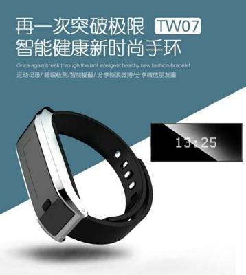 TW07智能手環 穿戴設備 拍照 來電振動 事件提醒 卡路里管理 藍牙防水計步 睡眠監測 計步器 (5.4折)