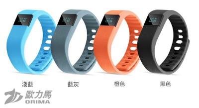 歐力馬-TW64 藍芽血壓健康運動手環 (6.1折)