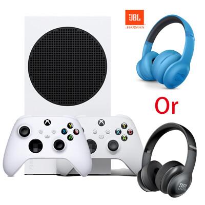 Xbox Series S 主機 (無光碟機版本)+《JBL 300專業耳機 藍or黑》+《控制器》 (9.4折)