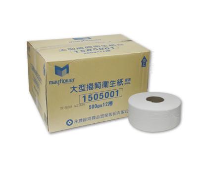 五月花大捲筒衛生紙500g x 12捲 (7折)