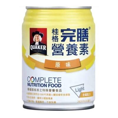 桂格完膳營養素含纖配方 原味 250ml 24入/箱 (5.2折)