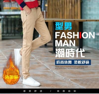 保暖防寒黃金絨休閒褲 (3.1折)