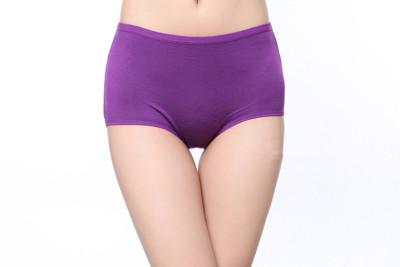 莫代爾大尺碼中高腰內褲(28-35吋) (3.3折)