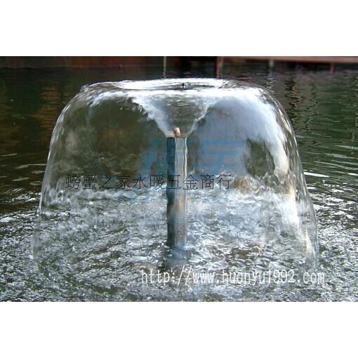 4分6分銅喇叭花噴頭 牽牛噴泉噴頭 園林園藝水景景觀1入