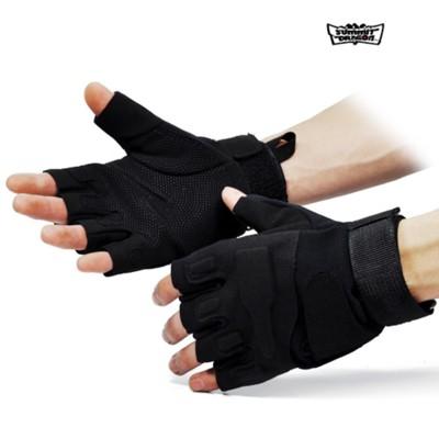 天脈傲龍 黑鷹部隊戰術運動手套 騎車健身戶外全能半指手套1入 (10折)