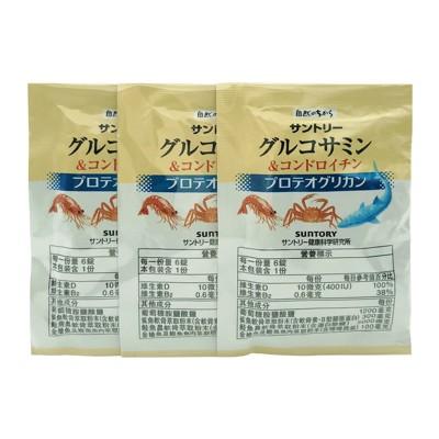 【suntory三得利】固力伸(葡萄糖胺+鯊魚軟骨) 隨身包 (30包/