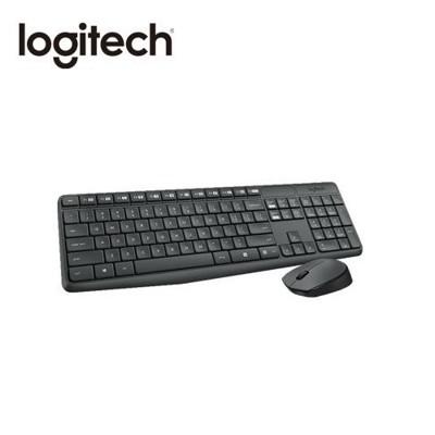 [富廉網] 羅技 logitech mk235 無線滑鼠鍵盤組 (7.7折)