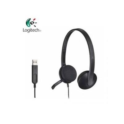 羅技 Logitech H340 USB 耳機麥克風 [富廉網] (8.2折)