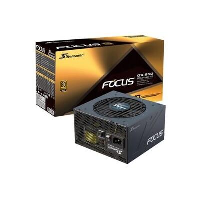Seasonic 海韻 FOCUS GX-850 金牌 全模組 電源供應器 [富廉網] (9.1折)