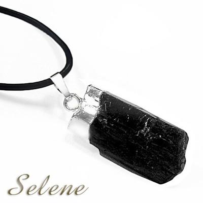 【Selene珠寶】神秘黑碧璽原礦墜鍊(又名電氣石) (10折)