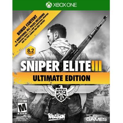 【一起玩】 XBOX ONE 狙擊之神 3 終極版 英文美版 Sniper Elite III 狙 (8.1折)