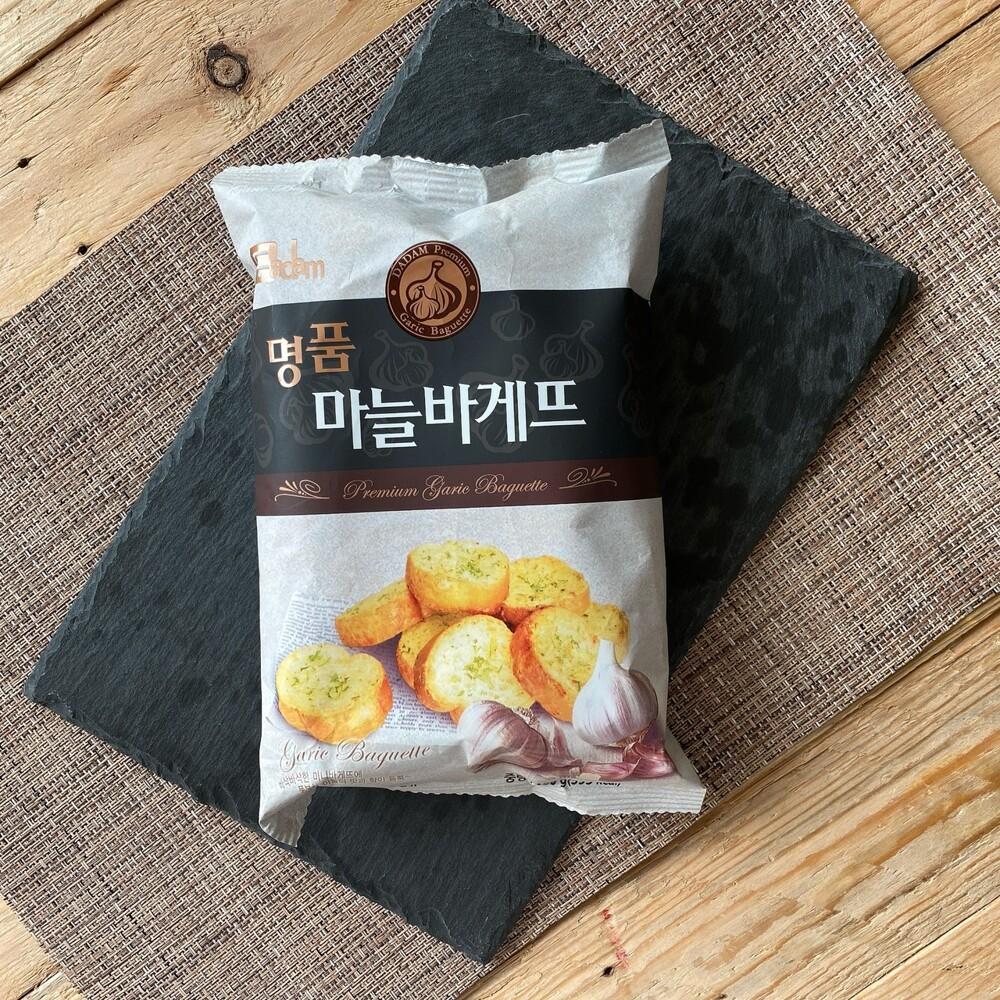 韓國 dadam奶油香蒜風味吐司脆餅(100公克/包)