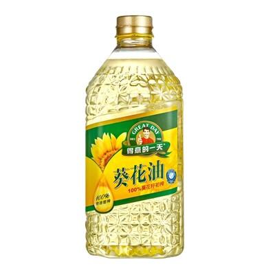 【得意的一天】100%葵花油1瓶(1.58公升/瓶) (6折)