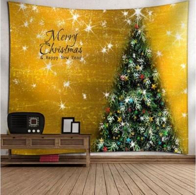 (200X150)聖誕樹掛毯【XU132】家居裝飾掛毯 背景布 拍照道具 聖誕樹 掛毯 (5.9折)