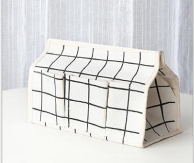 日式布藝紙巾盒【XU118】無紡布面紙盒 衛生紙 面紙 多功能 收納盒 辦公 桌面 (3.9折)