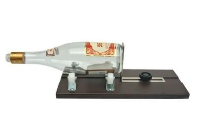 鋁合金酒瓶切割器【XU074】 diy割瓶器工具圓形玻璃 切割器 (6.4折)