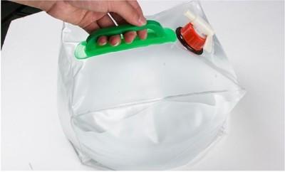 戶外10l儲水袋ch)ya0876)戶外儲水袋可折疊水桶車載車用水袋 汽車用品釣魚桶 (4折)