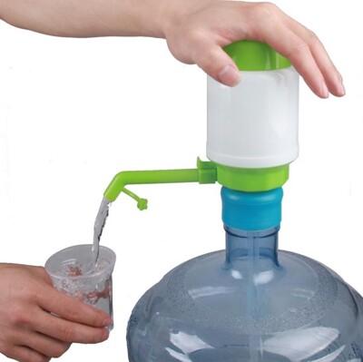 艾比讚【取水神器】桶裝水專用取水神器 裝置簡單 拆裝清洗方便 手壓式抽水器 飲水器 (3.9折)