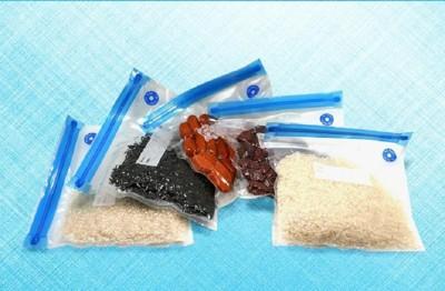 (抽氣泵+保鮮袋)【XU015】攜帶型食品真空保鮮袋套組 家用重複使用食物真空保鮮袋恆溫煮慢煮袋 (4.9折)