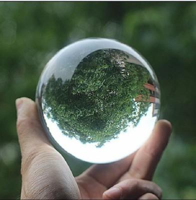 艾比讚 10CM水晶球【L103】透明水晶球 高品質 光球擺飾 魔術道具 鎮宅 風水 轉運 招財 (6.2折)