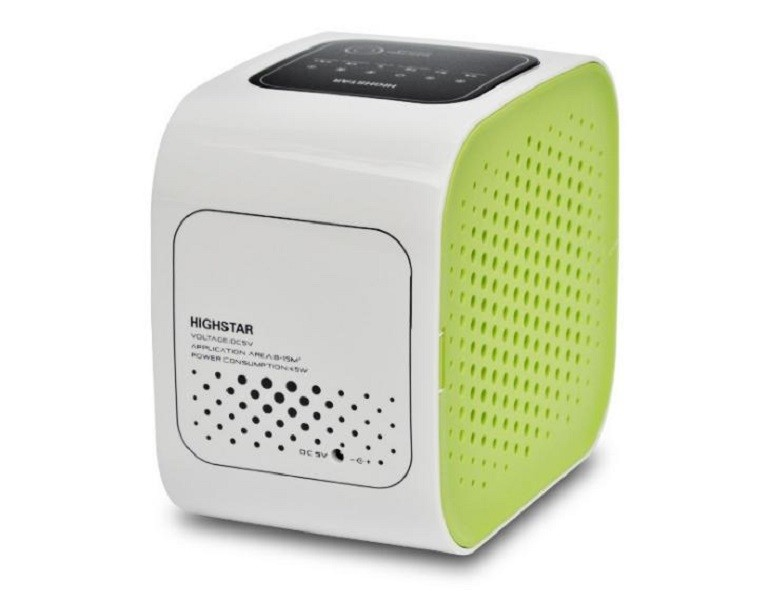 艾比讚 日式家用迷你空氣清淨機l185空氣淨化 負離子 除甲醛 除臭 除粉塵 pm2.5