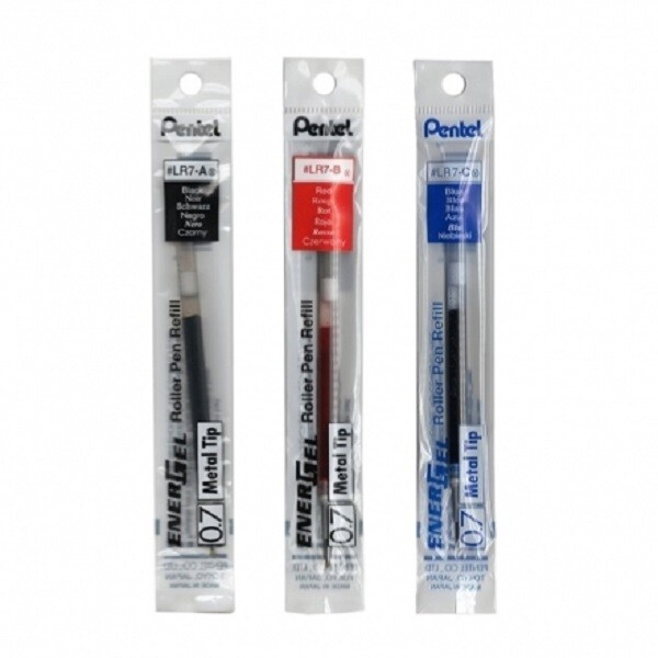 pentel飛龍 lrp7 極速耐水鋼珠筆芯 極速鋼珠筆替芯 0.7mm 1入1支