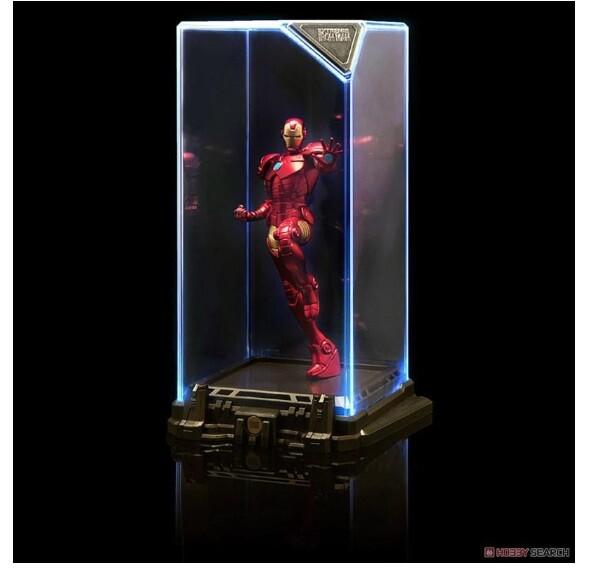 (現貨) 正版授權 marvel 漫威 復仇者聯盟 鋼鐵人 美國隊長 蜘蛛人(附贈感應式發光展示盒)