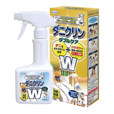 【UYEKI】日本製 植木 雙效配方防蟎噴液(蹣蟲忌避+塵蹣包覆) 250ml (7.5折)