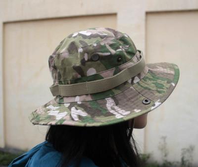 E.City 可翻釦迷彩風戶外遮陽帽漁夫帽 (2.2折)